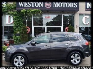 2011 Acura MDX SH*AWD*SUNROOF*LEATHER*SPORT WHEELS*BUY HERE
