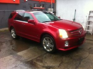 2008 Cadilliac SRX4 (all wheel drive) local car clean title219k