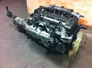 JDM TOYOTA SUPRA 2JZGTTE ENGINE GETRAG 6 SPEED MT TRANSMISSION