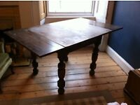 FREE extending dining table solid wood