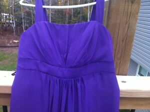 Purple Gown Size 12