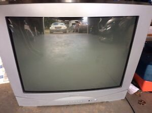 "FREE 27"" CRT TUBE OLD STYLE FAT TV"