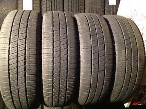 4 pneus d'été  185/60 r15 goodyear eagle ls.   120$