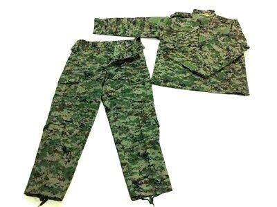 Uniforme estilo militar Completo Ruso Pixelado (talla XL)+Mascara bat envi24/48h