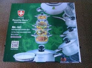 Cookware Set 16 Pcs High Quality by Royalty Hous  Switzerland