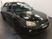 2003 Subaru Impreza MY03 GX (AWD) Black 5 Speed Manual Sedan Cardiff Lake Macquarie Area Preview