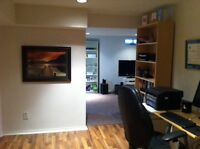 Thornhill-1 bdr large app. All inclusive, modern, very clean