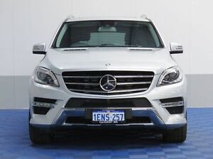 2014 Mercedes-Benz ML 166 350 CDI Bluetec (4x4) Silver 7 Speed Automatic Wagon Jandakot Cockburn Area Preview