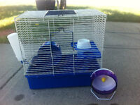 Hamster cage with accessories (Airdrie)