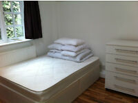 Double studio flat in West Kensington near Barons Court and Earls Court. All bills included.