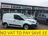 14 REG TRANSIT CONNECT 1.6 200 NEW SHAPE NO VAT TO PAY FSH 200 VANS OPEN 7 DAYS