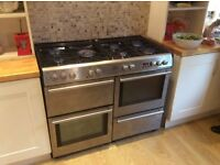 Belling 110 dual fuel range cooker
