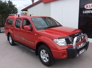 2009 Nissan Navara ST Red 6 Speed Manual Dual Cab Pialba Fraser Coast Preview