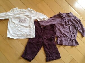 Girls size 3-6 months janie and jack outfits EUC London Ontario image 2