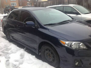 2012 Toyota Corolla S Sedan Negotiable