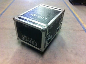 Rack Style Case with Wheels 9U - 30- 403