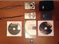 Nikon Coolpix L21 & Canon IXUS 230 HS Digital Cameras with Extras