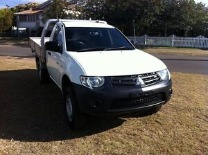 2012 Mitsubishi Triton MN MY12 GL White 5 Speed Manual Cab Chassis Gatton Lockyer Valley Preview