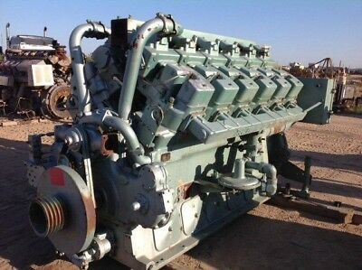 Rebuilt Waukesha L7042gu Engine
