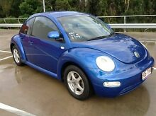 2001 Volkswagen Beetle 9C 2.0 Blue 4 Speed Automatic Hatchback Morayfield Caboolture Area Preview