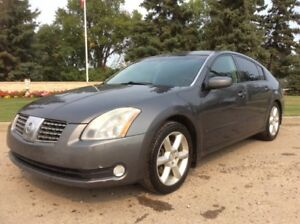 2005 Nissan Maxima, SE-PKG, AUTO, LOADED, $3,700