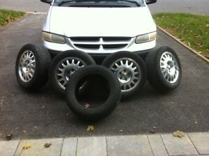 4 MAZDA MILLENIA S MAGNESIUM RIMS WITH TIRES AND SPARE