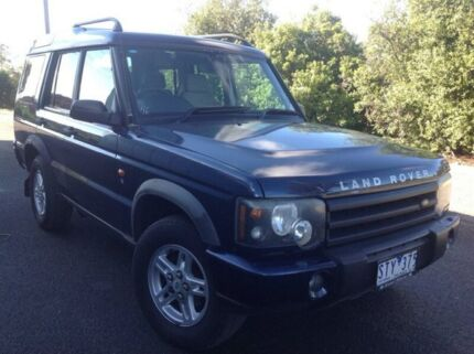 2004 Land Rover Discovery 03MY S Td5 Blue 4 Speed Automatic Wagon Hoppers Crossing Wyndham Area Preview