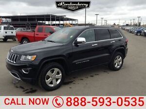 2015 Jeep Grand Cherokee 4WD LIMITED Leather,  Back-up Cam,  Blu