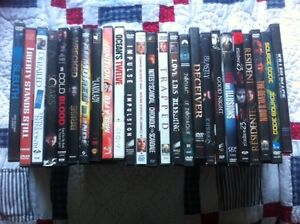 120 great Action and suspense DVDs