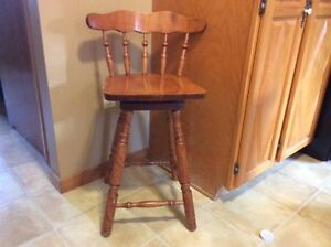 Set of 4 Counter Top Height Bar Stools- Reduced Price