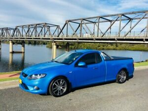 2011 Ford Falcon FG Upgrade XR6 Limited Edition Blue 6 Speed Manual Utility Taree Greater Taree Area Preview