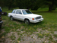1982 Plymouth Reliant K SE