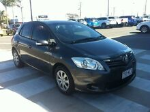 2011 Toyota Corolla ZRE152R MY11 Ascent Graphite 6 Speed Manual Hatchback Gladstone Gladstone City Preview