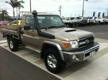 2012 Toyota Landcruiser VDJ79R MY10 GXL Gold 5 Speed Manual Cab Chassis Gladstone Gladstone City Preview