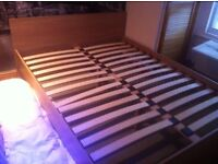 Wooden Double Bed and Brand New Mattress