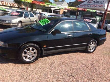 2003 Mitsubishi Magna TJ Executive Black 4 Speed Automatic Sedan South Maitland Maitland Area Preview
