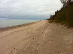 LAKE HURON LAKE FRONT LOT