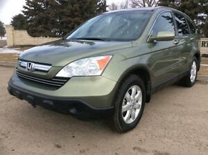 2008 Honda CR-V, EXL-PKG, AUTO, AWD, LEATHER, ROOF, $9,700
