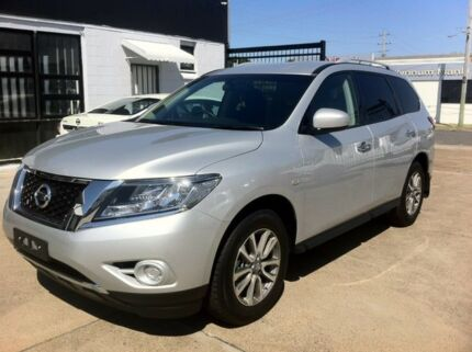 2015 Nissan Pathfinder R52 MY15 ST (4x2) Silver 4 Speed Continuous Variable Wagon Wynnum Brisbane South East Preview