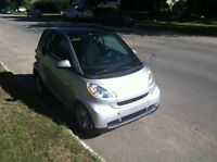 2008 Smart Fortwo Grey Coupe (2 door)