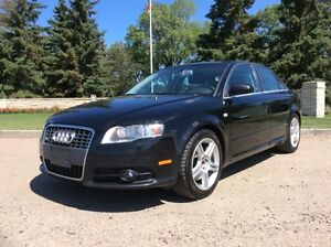 2008 Audi A4, S-LINE, 6/SPD, LEATHER, ROOF, AWD, $9,700