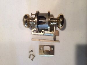 Various door knob sets - all parts for each
