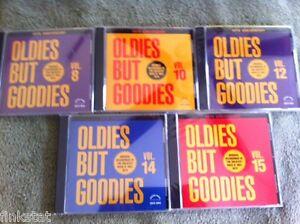 ART LABOE OLDIES BUT GOODIES 5 NEW, SEALED CD'S ORIGINAL SONGS ORIGINAL ARTISTS