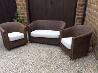Ascot Compact Conservatory 2 seater sofa and 2 x chairs