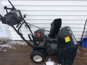 "YARDWORKS 5HP 24"" SNOWBLOWER"