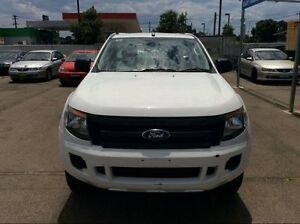 2012 Ford Ranger HI-RIDER CAB CHASSIS PX XL SUPER CAB 4X2 White Automatic Utility Lansvale Liverpool Area Preview