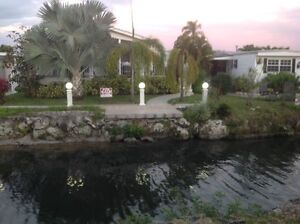 Superbe maison mobile Park Lake, Hallandale, FL