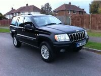 Jeep Grand Cherokee 4x4. CRD Limited Edition. 2.7l. Automatic.