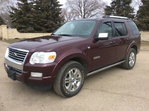 2008 Ford Explorer, LIMITED, 4X4, LEATHER, NAVI/DVD, $7,500