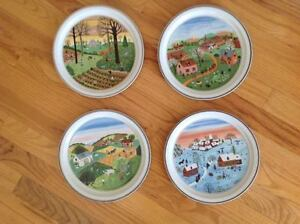 Villeroy and Boch - Four Seasons Plates